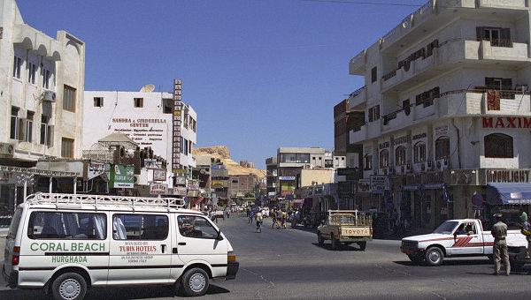 В центре Хургады. Архивное фото