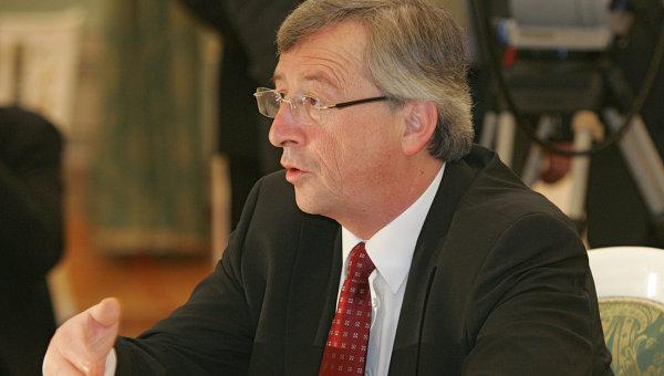 Премьер-министр Люксембурга Жан-Клод Юнкер. Архив
