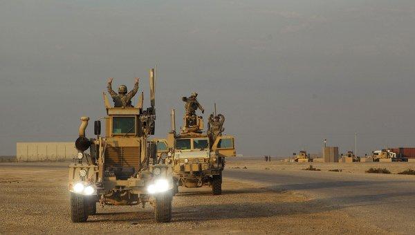 Последняя колонна войск США покинула Ирак