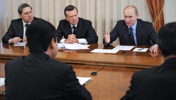 Встреча Владимира Путина с Гурбангулы Бердымухамедовым. Архивное фото
