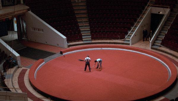 Цирковая арена. Архивное фото