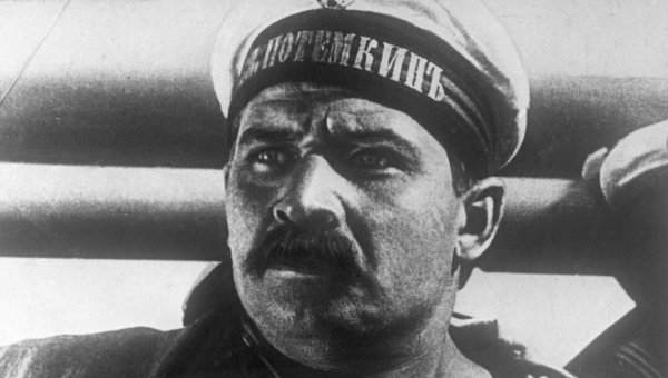 Кадр из кинофильма Броненосец Потемкин