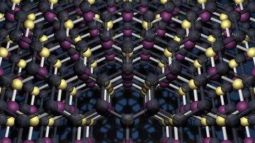 Молекулярная структура графена