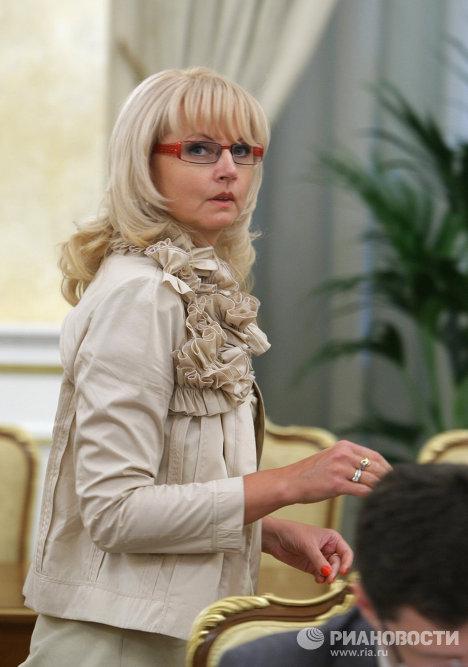 Министр здравоохранения и социального развития РФ Татьяна Голикова
