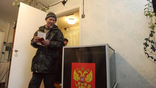 Выборы в Новосибирской области, архивное фото