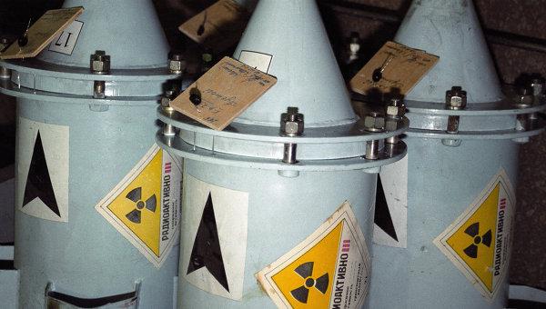 Контейнеры с ядерным топливом. Архивное фото