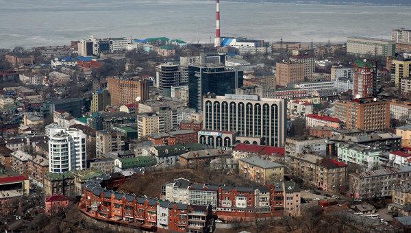 Виды города Владивостока. Архивное фото
