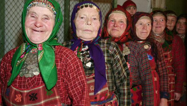 Быт фольклорного коллектива Бурановские бабушки