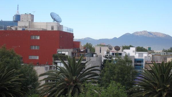 Мехико. Вид на город. Архивное фото