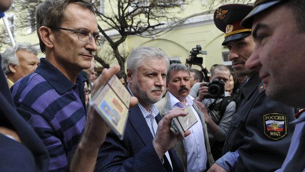 Поездка Сергея Миронова и Николая Левичева в Астрахань