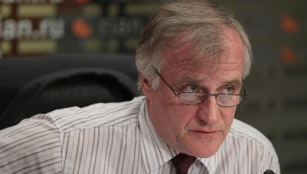 Роберт Пшель - Директор информбюро НАТО в Москве. Архивное фото