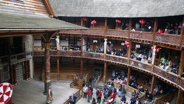Театр Глобус в Лондоне во время дня открытых дверей
