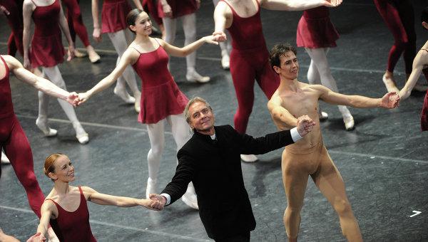 Американский хореограф Джон Ноймайер, архивное фото