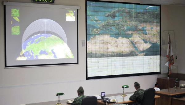 Радиолокационная станция системы ПРО Москвы. Архивное фото