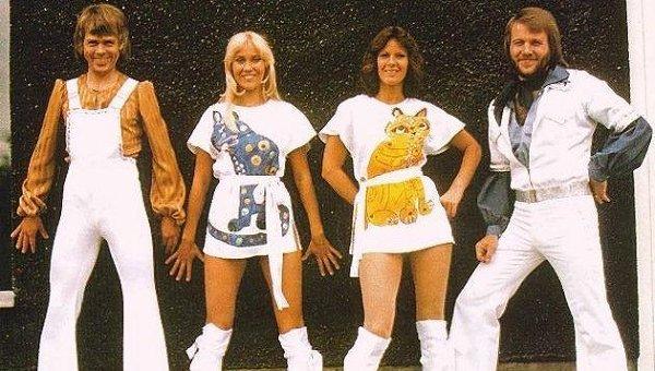 Группа ABBA. Архивное фото