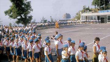 Всесоюзный пионерский лагерь Артек в Крыму