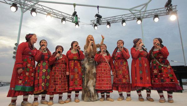 Российская вечеринка в рамках конкурса Евровидение 2012