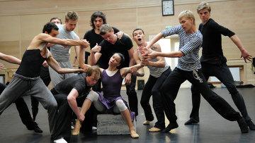 Репетиция балета Бориса Эйфмана Роден