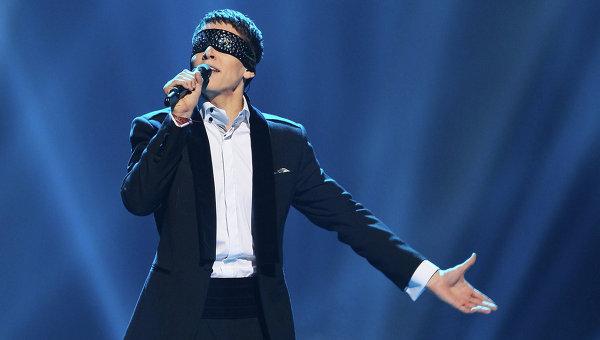 Участник конкурса Евровидение-2012 от Литвы Донни Монтелл. Архивное фото