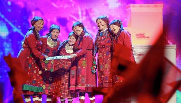 Бурановские бабушки на конкурсе Евровидение -2012