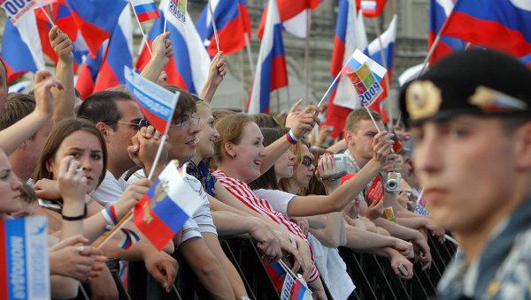 Концерт на Красной площади в День России. Архив