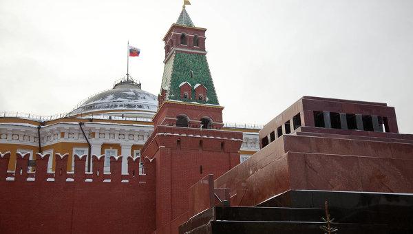 Мавзолей В. Ленина на Красной площади. Архивное фото
