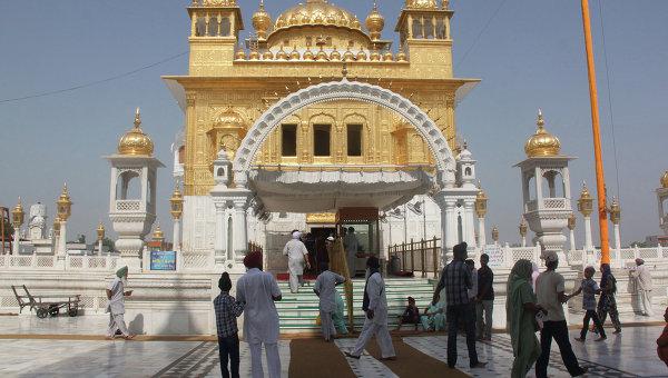 Индийский храм, архивное фото.
