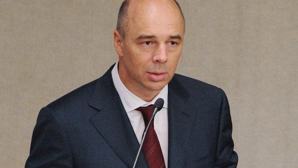Министр финансов РФ Антон Силуанов на пленарном заседании Государственной Думы РФ