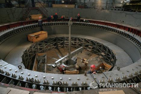 Работы по восстановлению Саяно-Шушенской ГЭС