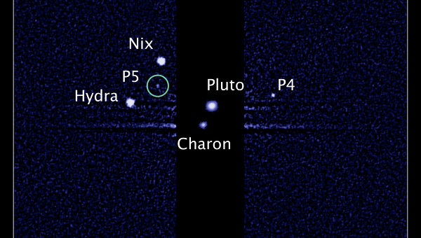 Фото спутников Плутона
