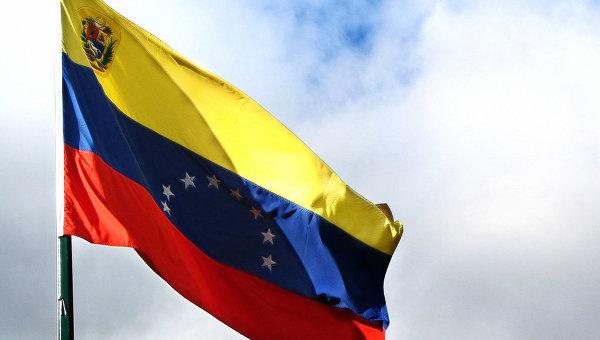 Флаг Венесуэлы, архивное фото.