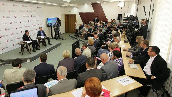Заседание Открытого правительства. Архивное фото