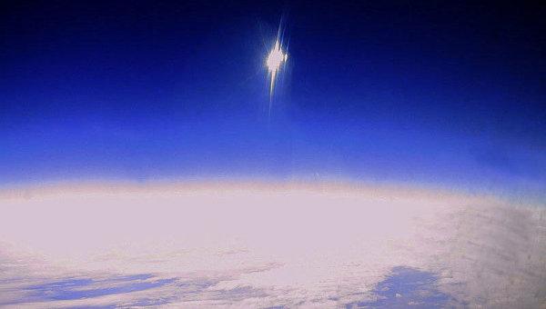Озоновый слой Земли. Архивное фото.
