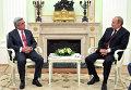 Переговоры В.Путина и С.Саргсяна в Кремле