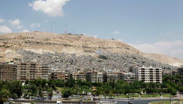 Город Дамаск. Архив