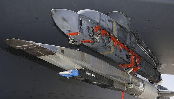 Гиперзвуковая крылатая ракета X-51A. Архивное фото.