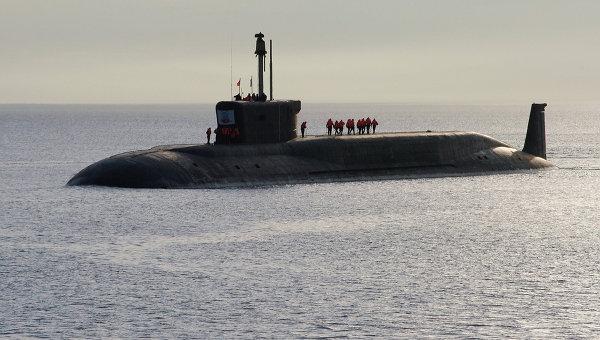 Атомная подводная лодка (АПЛ) Юрий Долгорукий. Архив