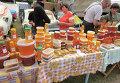 Продажа меда на Сорочинской Ярмарке в Украине