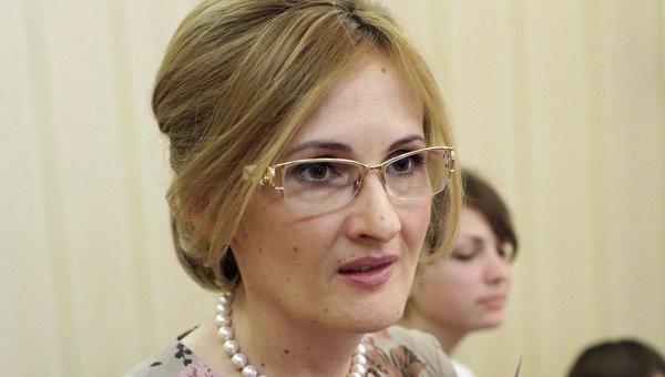 Депутат Госдумы РФ Ирина Яровая