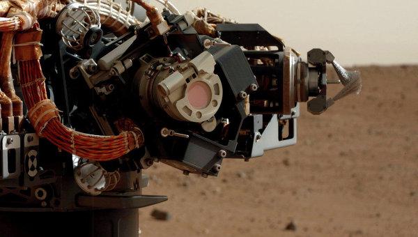 Камера MAHLI на манипуляторе марсохода Curiosity