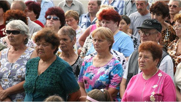Население России стареет, 13% граждан старше 65 лет, сообщает Минтруд