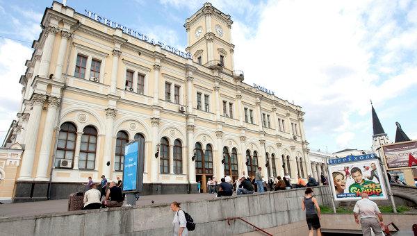 Ленинградский вокзал. Москва. Архивное фото