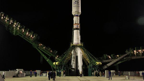 Пуск ракеты Союз-2.1а, архивное фото