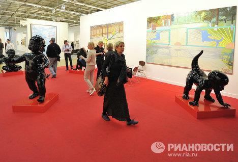Открытие ярмарки современного искусства Арт-Москва