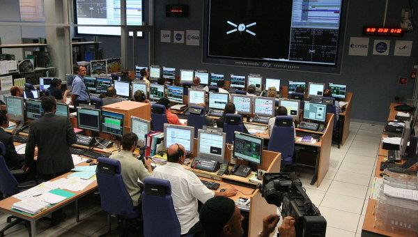 Европейский центр управления космическими полётами. Архивное фото