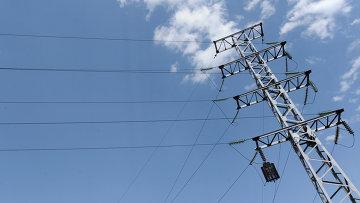 Линия электропередачи. Архивное фото