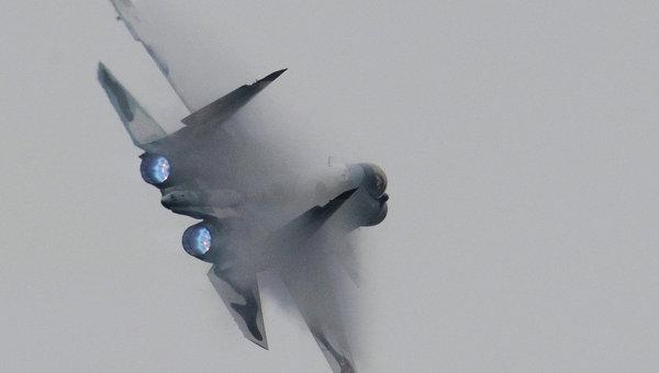Многофункциональный истребитель Су-30МКИ. Архивное фото