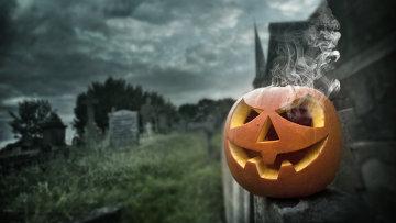 Тыква на празднике Хэллоуин