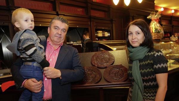 Открытие шоколадного бутика А. Коркунов в Москве