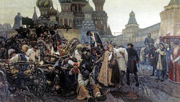 Картина Утро стрелецкой казни художника В.И. Сурикова